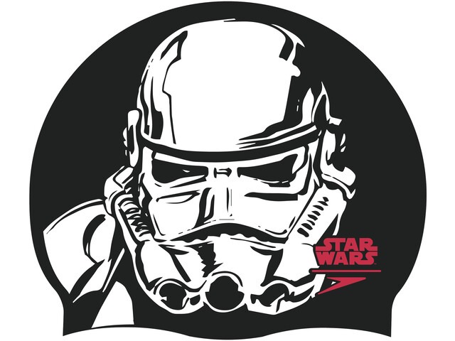 speedo Star Wars Slogan Print Gorra, black/white